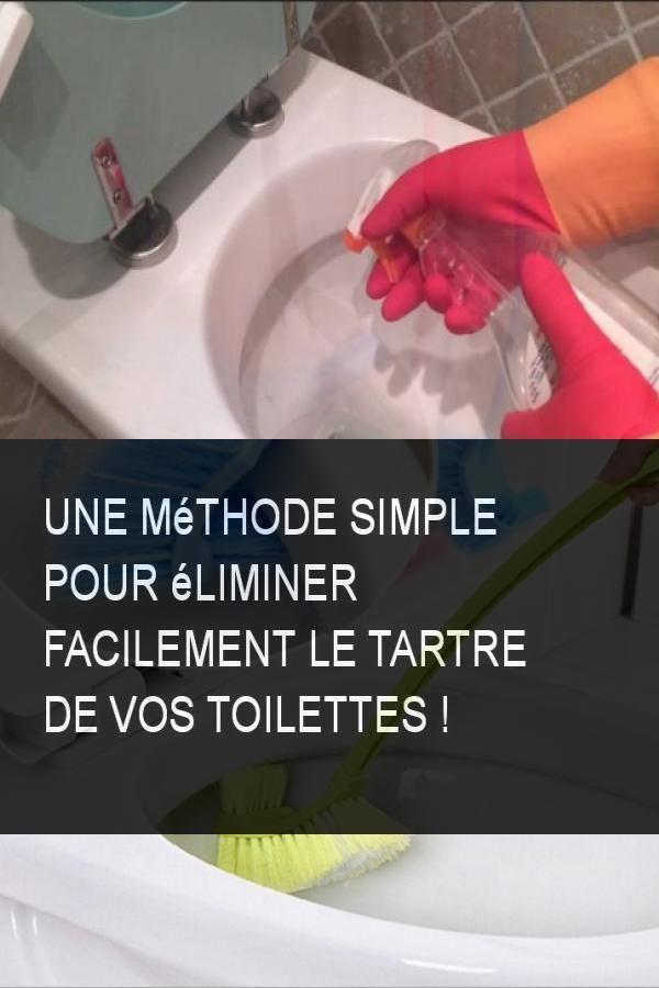 Une Méthode Simple Pour Éliminer Facilement Le Tartre De concernant Tartre Toilette