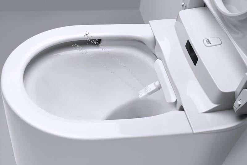Vaart Achter Nieuwe Douche-Wc'S - Installatie.nl avec Toilette Lavante