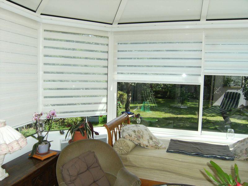 Veranda Rideau Interieur - Veranda-Styledevie.fr serapportantà Rideau De Toit Pour Veranda
