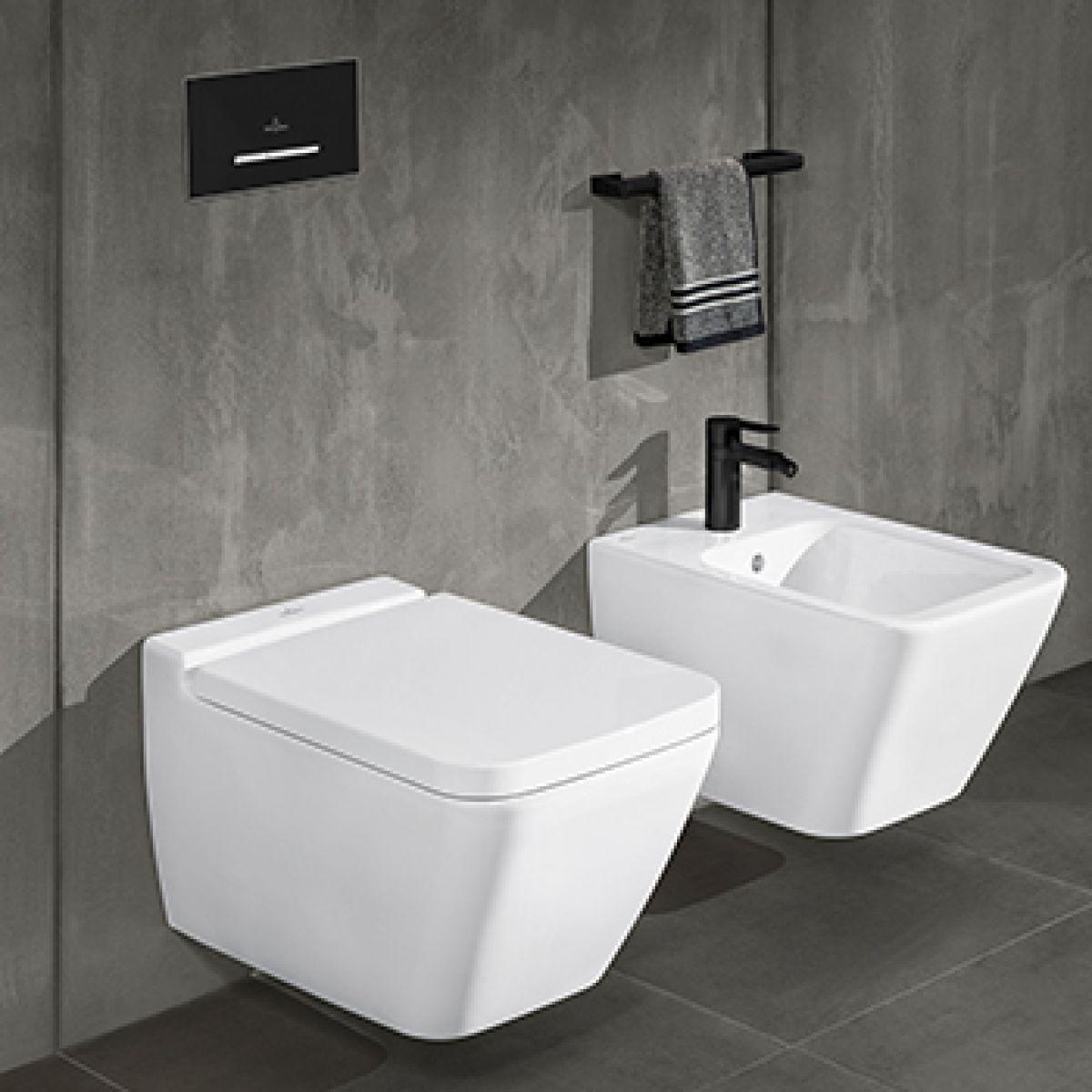 Villeroy & Boch Finion Wall Hung Rimless Toilet pour Toilette Villeroy Et Boch
