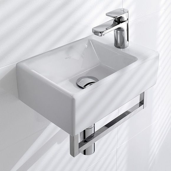 Villeroy & Boch Memento Hand Washbasin White With à Toilette Villeroy Et Boch
