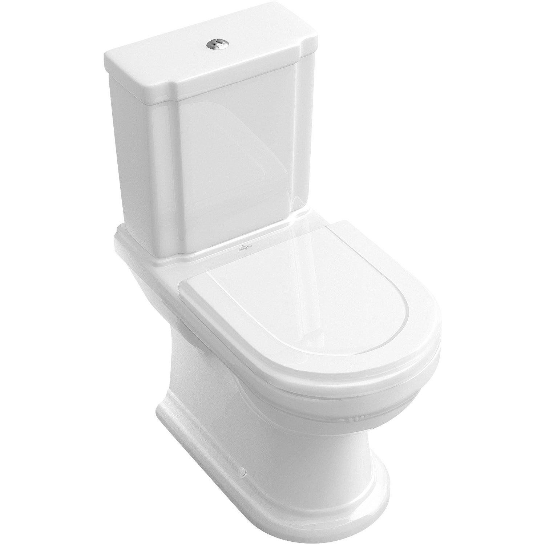Villeroy & Boch Stand-Wc Hommage Tiefspüler Weiß Kaufen pour Toilette Villeroy Et Boch