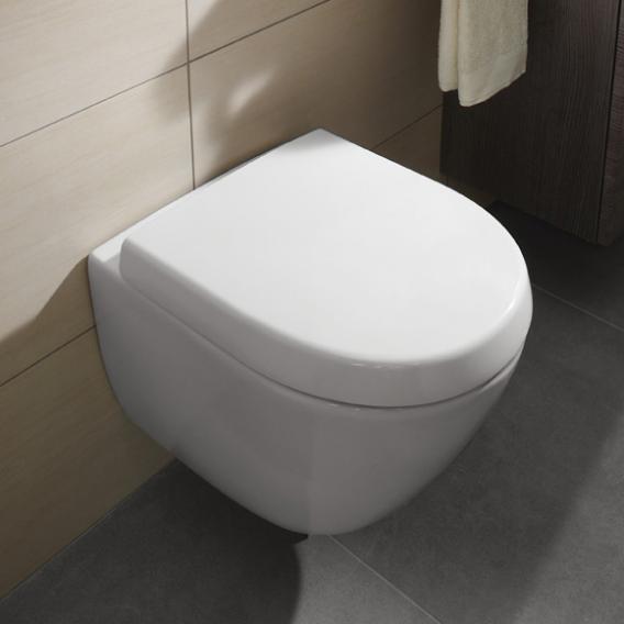 Villeroy & Boch Subway 2.0 Compact Toilet Seat, Removable concernant Toilette Villeroy Et Boch