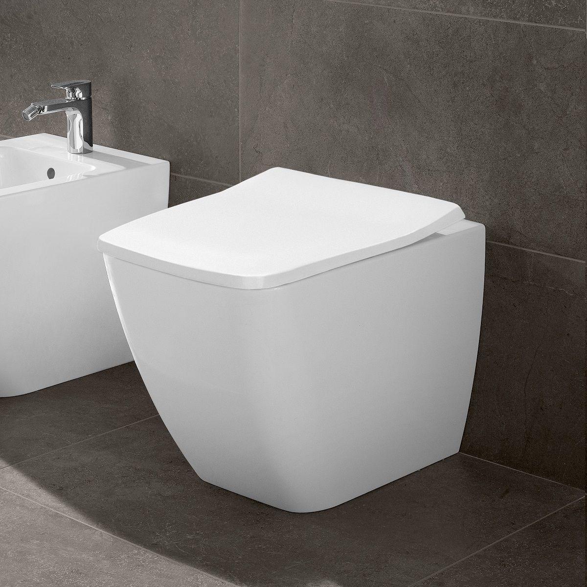 Villeroy & Boch Venticello Rimless Back To Wall Toilet destiné Toilette Villeroy Et Boch