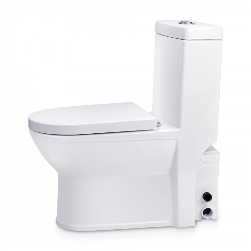 Wc Avec Broyeur Intégré Silencieux - Toilette Céramique dedans Toilettes Broyeur