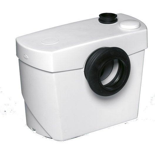 Wc Broyeur Compact - Wc Au Meilleur Prix | Leroy Merlin à Toilettes Sanibroyeur