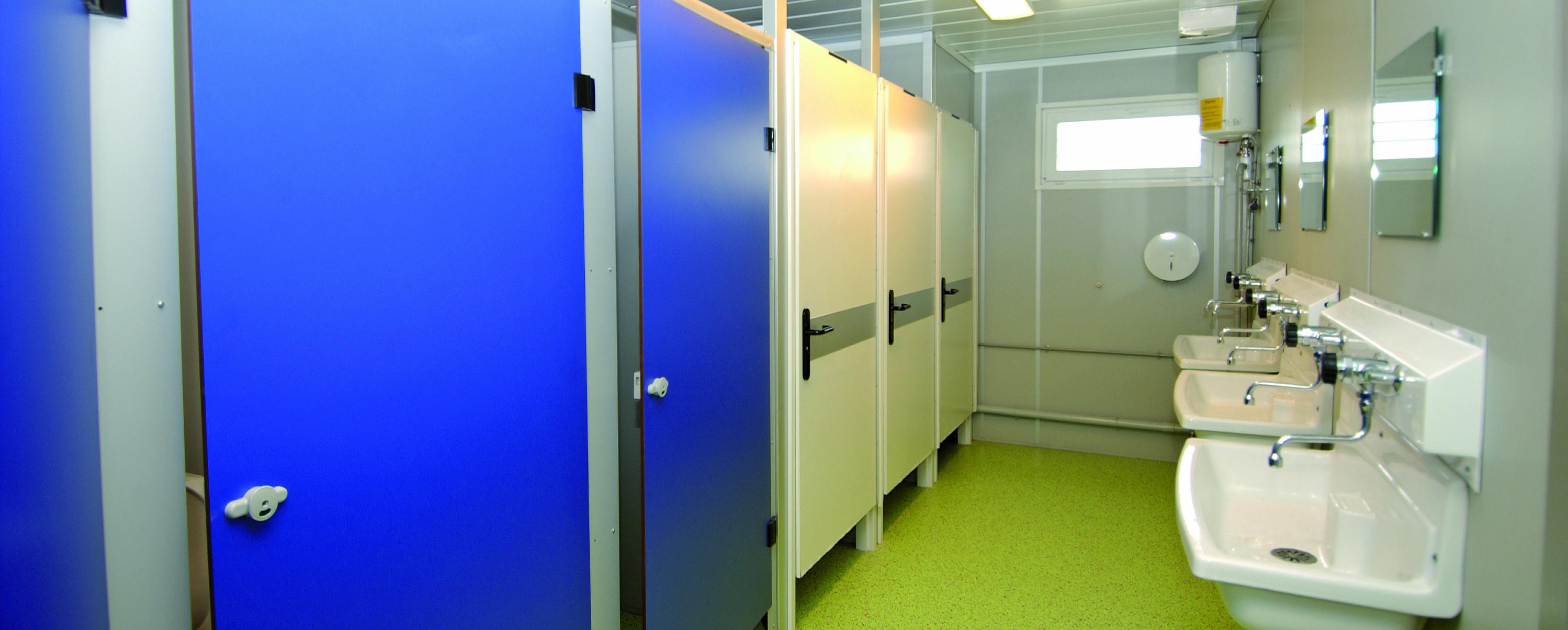 Wc De Chantier, Sanitaires De Chantier - Cougnaud Services tout Prix Location Toilette Chimique