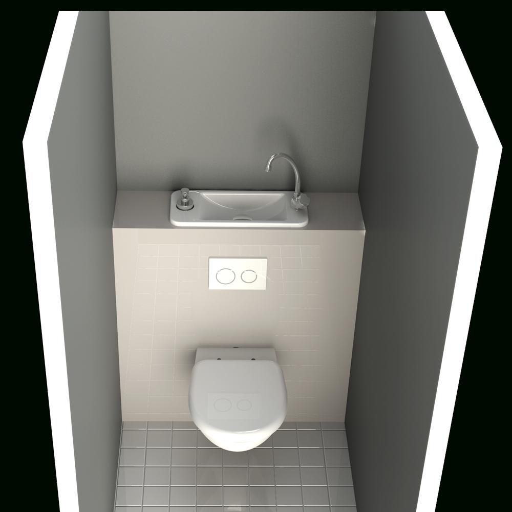 Wc-Suspendu-Avec-Lave-Mains-Compact | Blog Wici Concept avec Toilette Suspendu Geberit Prix