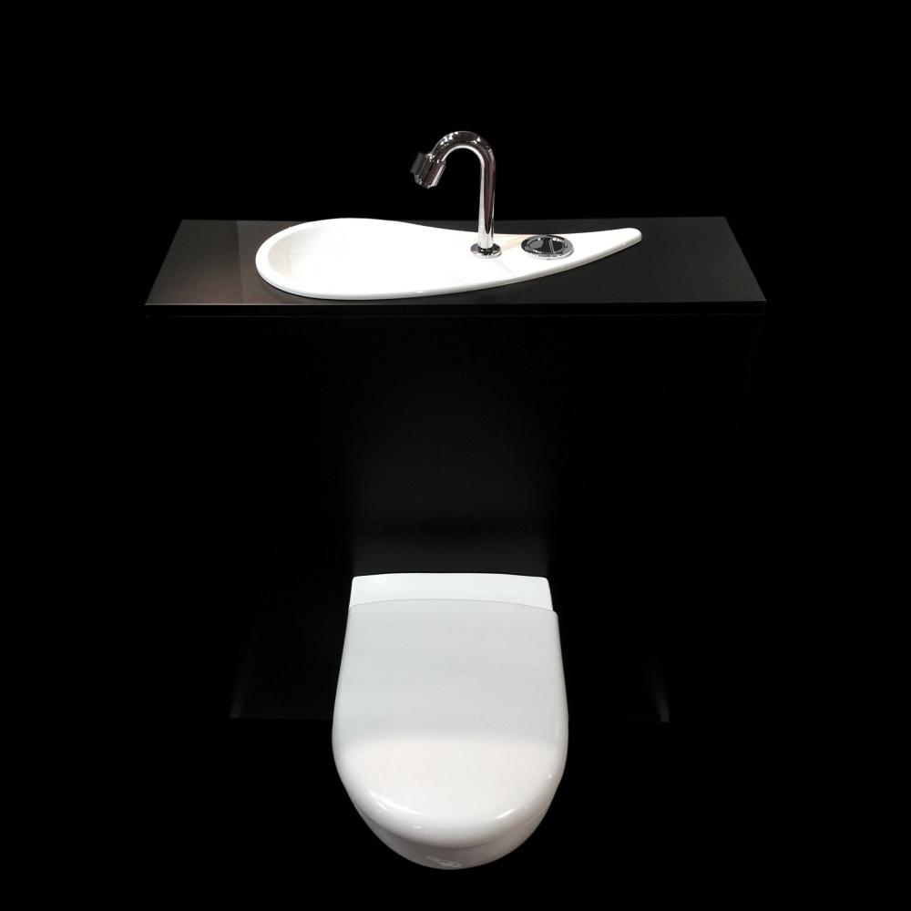 Wc Suspendu Geberit Avec Lave-Mains Design - Configuration tout Toilette Suspendu Geberit