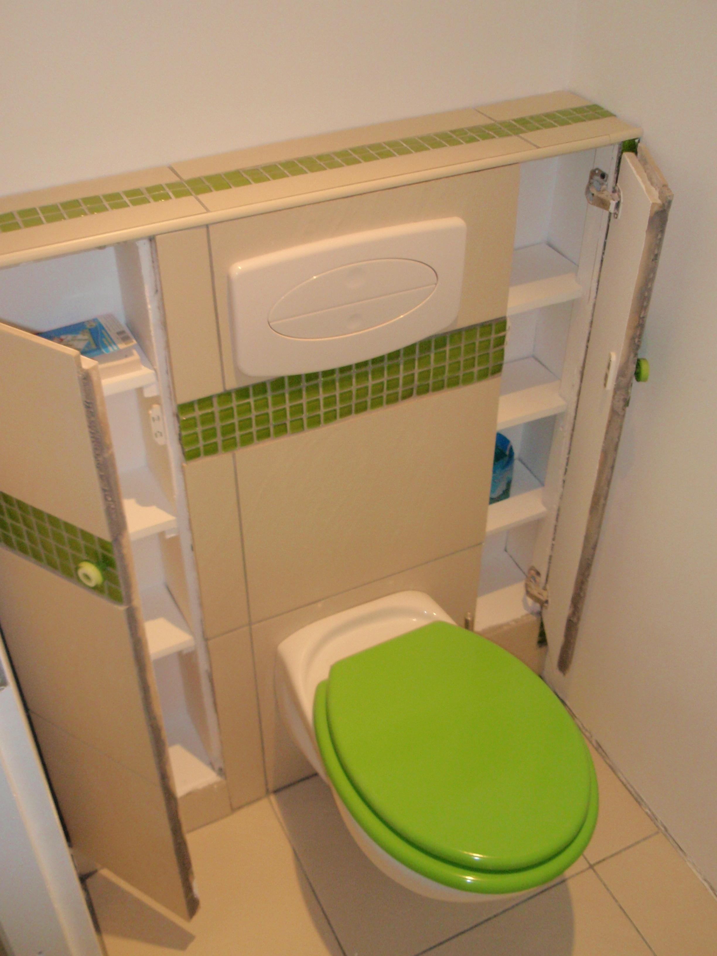 Wc Suspendu | Karkace encequiconcerne Placard Pour Toilette