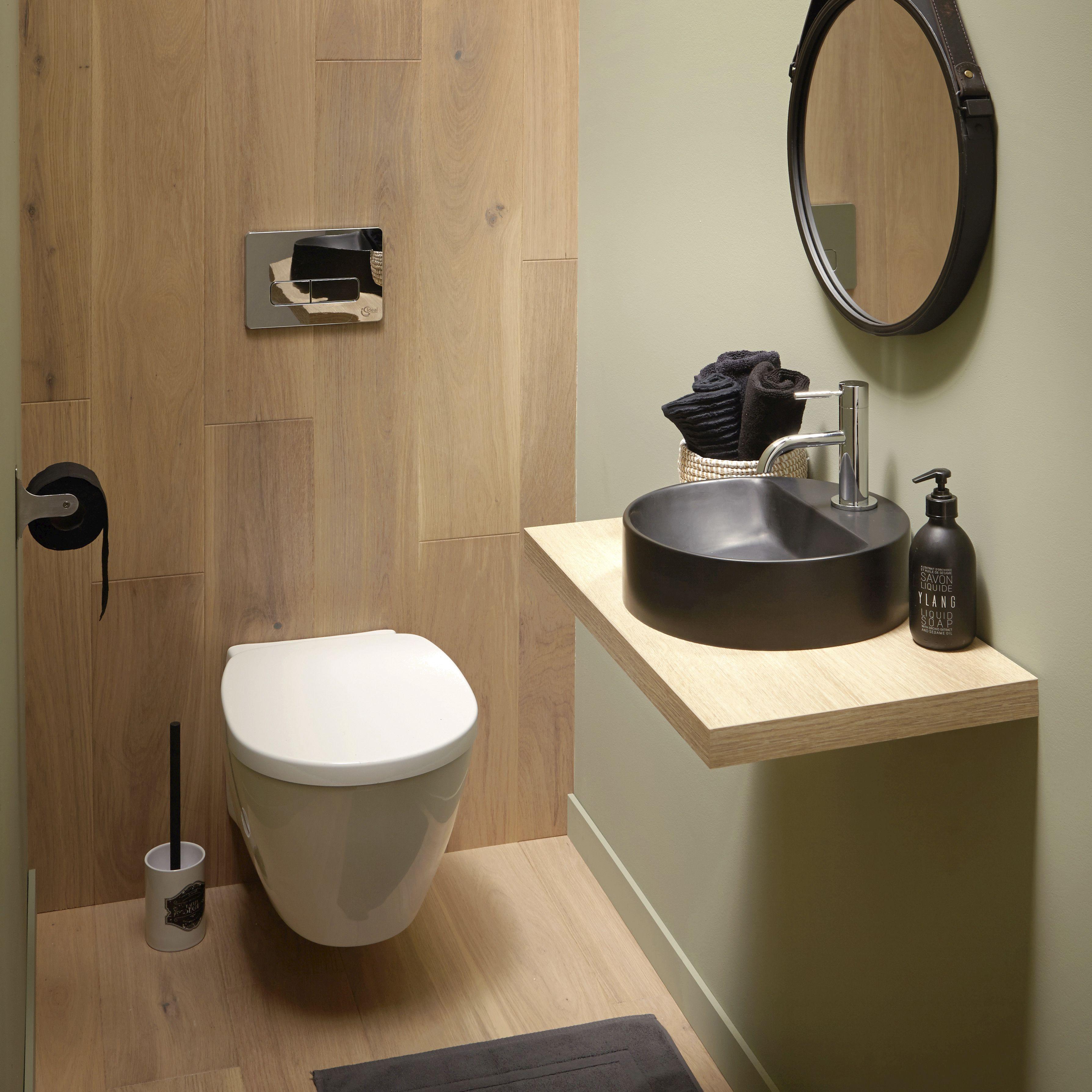Wc Suspendu Leroy Merlin   Lave Main Wc, Déco Toilettes concernant Toilette Suspendu Leroy Merlin