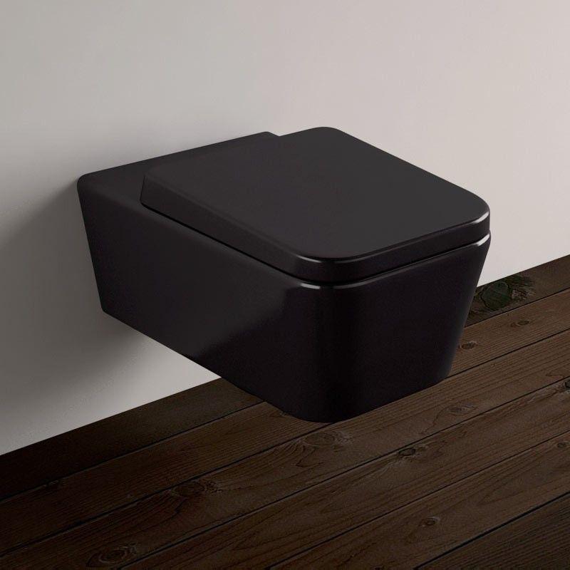 Wc Suspendu Tozza Noir pour Toilette Noir Suspendu
