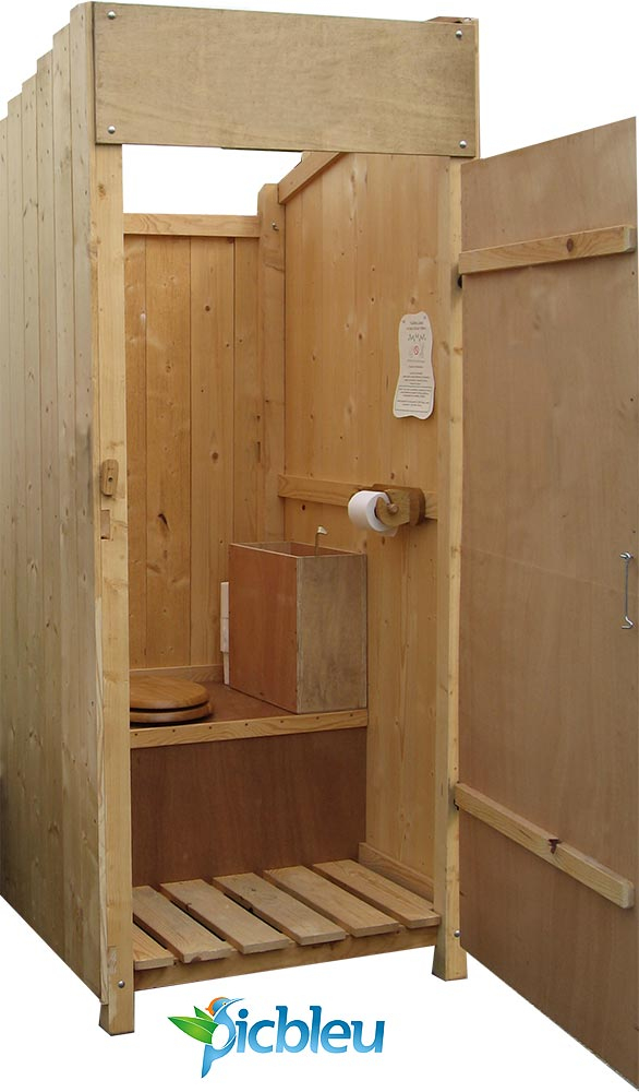 Wc Tlb Toilettes Sèches À Compost Litière Sèche Ou Litière avec Toilette Seche Exterieur