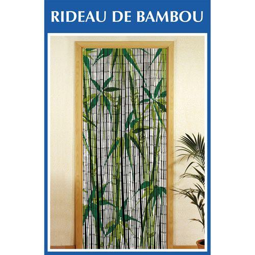 Wenko - Rideau De Porte - Bambou - Bamboo Blanc - Pas Cher avec Rideau De Porte Bambou