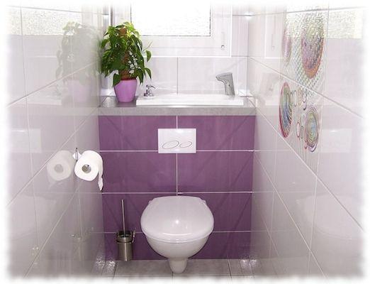 Wici Bati ® : Les Toilettes Suspendues Avec Lavabo Intégré intérieur Toilette Suspendu Geberit Prix