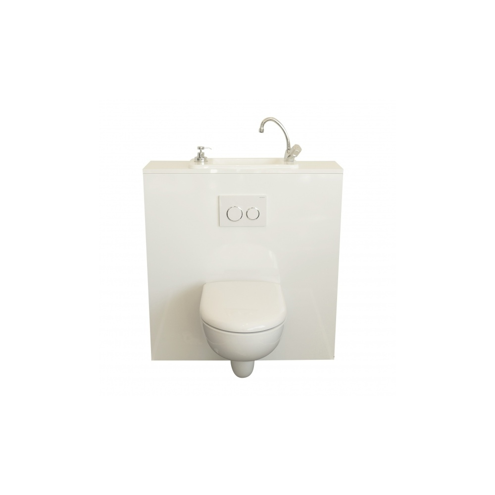Wici Next, Wc Suspendu Geberit Avec Lave-Mains Compact Intégré serapportantà Toilette Suspendu Geberit