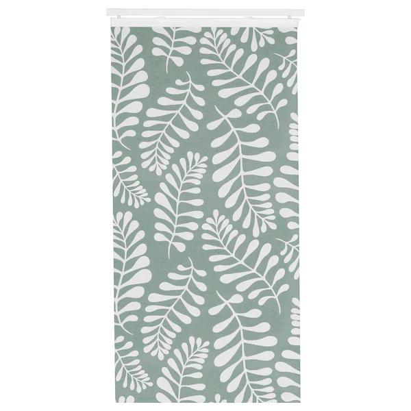 Yrla Panneau - Vert, Blanc 60X300 Cm | Rideau Panneau à Rideau Exterieur Ikea