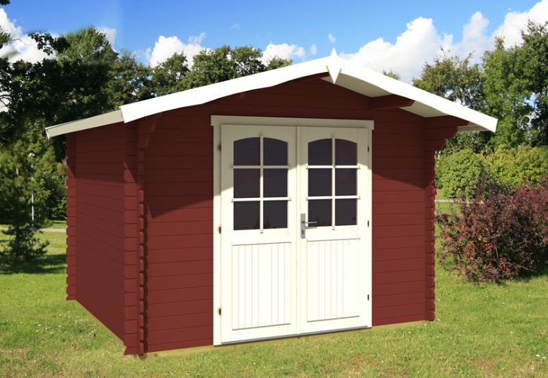 Abri De Jardin En Bois Peint De 10 M² Florida 2 à Abris De Jardin Bois 10M2