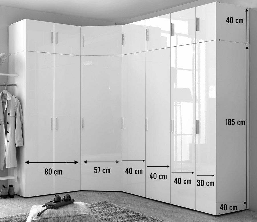 Armoire D Angle Dressing Blanc Brillant Design Cbc Meubles Encequiconcerne Dressing Profondeur 30 Cm Castorama Agencecormierdelauniere Com Agencecormierdelauniere Com