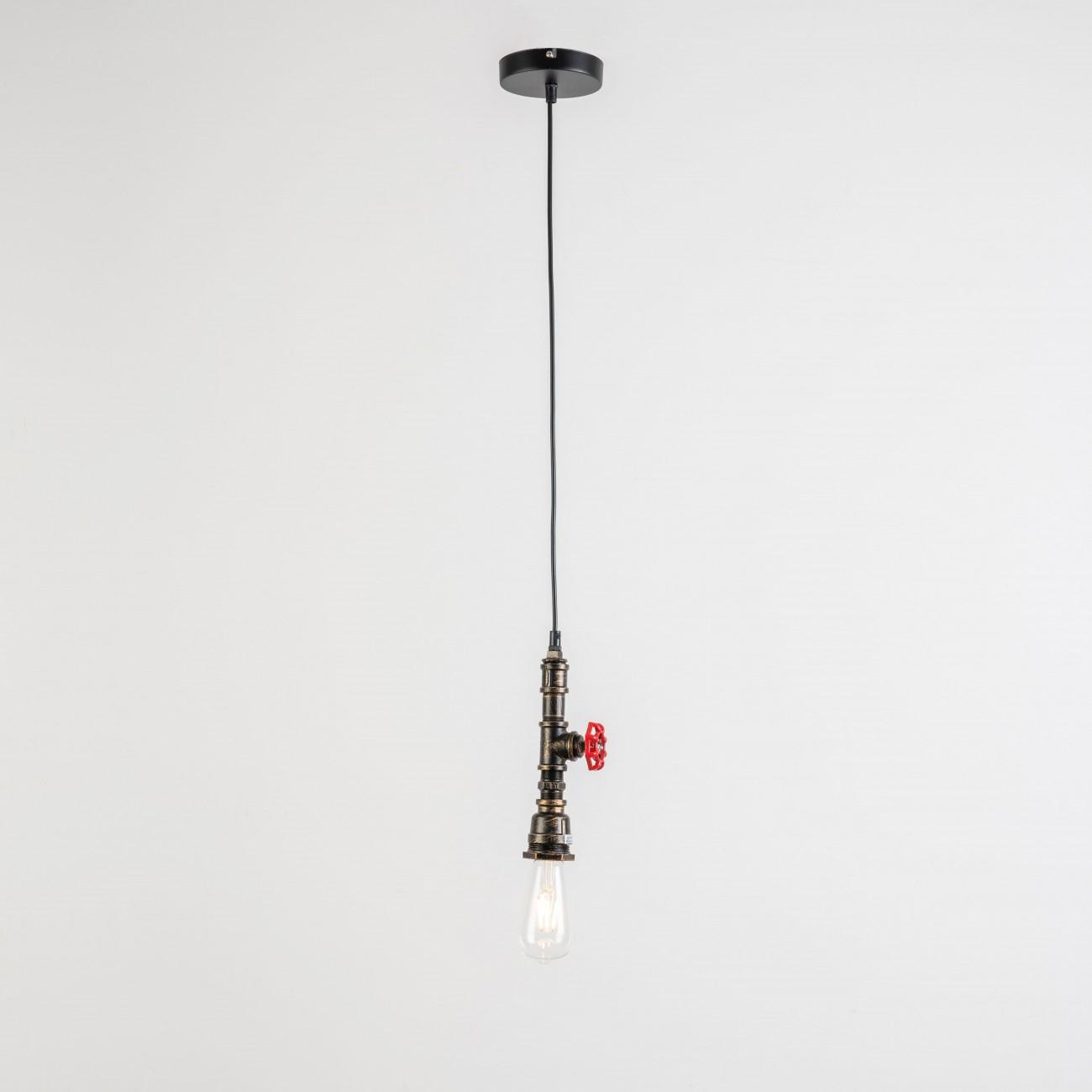Éclairage style campagne rustique  lampe tuyau