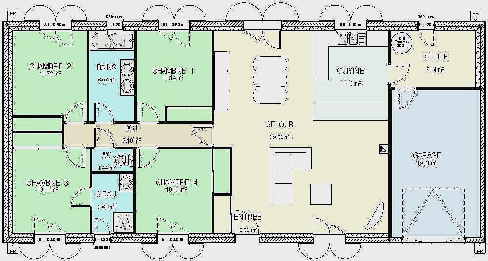Plan De Maison Plain Pied Gratuit 5 Chambres Idees De Tout Plan Cabanon Gratuit Home Depot Agencecormierdelauniere Com