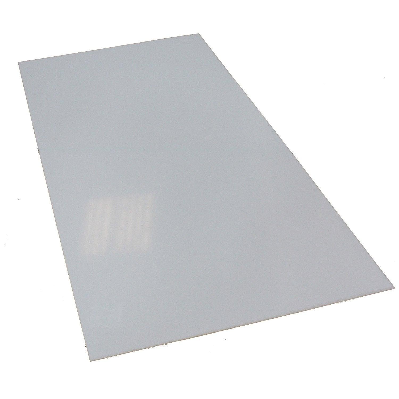 Plaque Polystyrene Blanc Laiteux Lisse L 100 X L 50 Cm Ep Interieur Plaque Plexiglas Transparent Castorama Agencecormierdelauniere Com