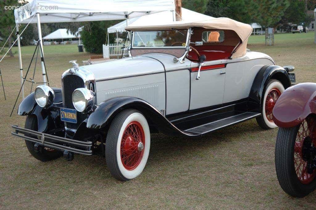 1927 Marmon Model E-75 | British Sports Cars, Fuel Prices concernant Marmon Sport 4 Chemin
