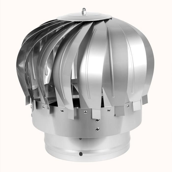 Chapeau De Cheminée Extracteur De Fumées Rotatif Éolien En encequiconcerne Extracteur De Cheminée