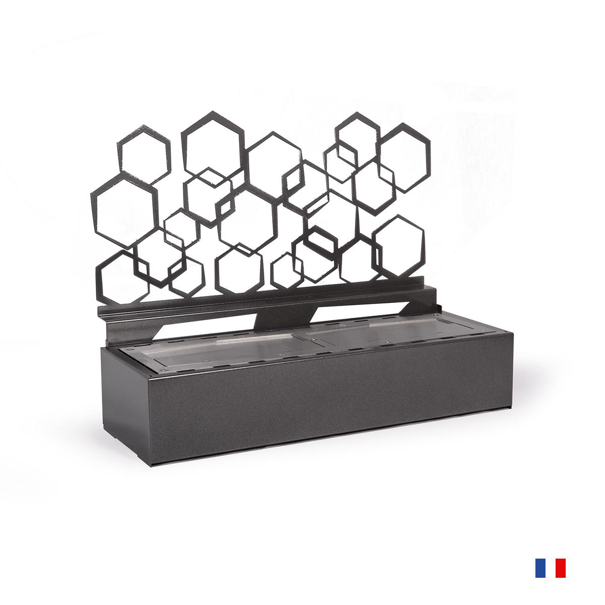Cheminée Éthanol À Poser Toulouse - Hexagonal - Paris destiné Cheminée Toulouse