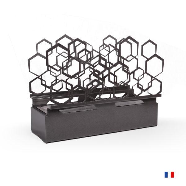 Cheminée Éthanol À Poser Toulouse - Hexagonal - Paris serapportantà Cheminée Toulouse
