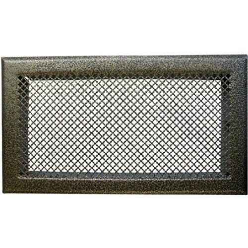 Dmo Grille D'Aération Cheminée - Bronze - 345 X 195 Mm encequiconcerne Grille Aération Cheminée Design