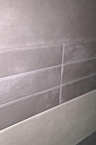 Faience 20 X 60 Effet Terre Cuite Ou Beton - Design And Deco pour Mitre De Cheminée En Terre Cuite