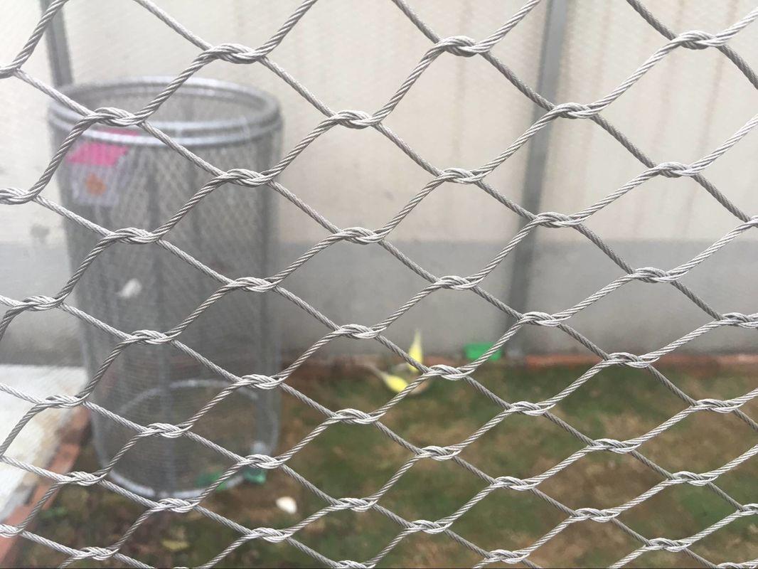 Fil Noué De Volière Clôturant, Grillage De Cage À Oiseaux tout Grillage Anti Oiseaux Cheminée