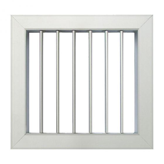 Grille De Ventilation Pour Porte Et Cheminée 140X130Mm intérieur Grille Ventilation Cheminée