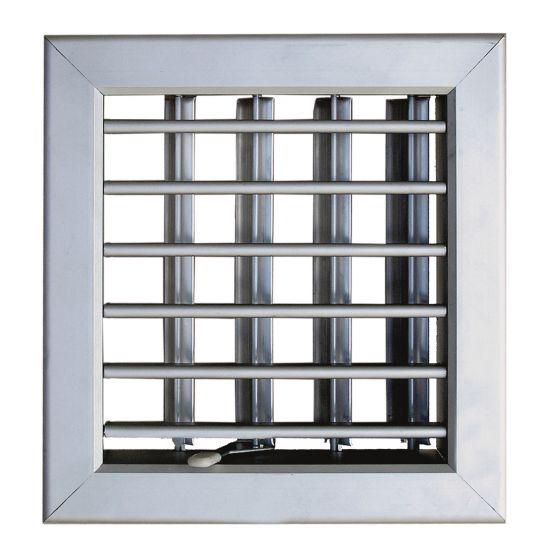 Grille De Ventilation Pour Porte Et Cheminée 180X180Mm à Grille Aération Cheminée Design