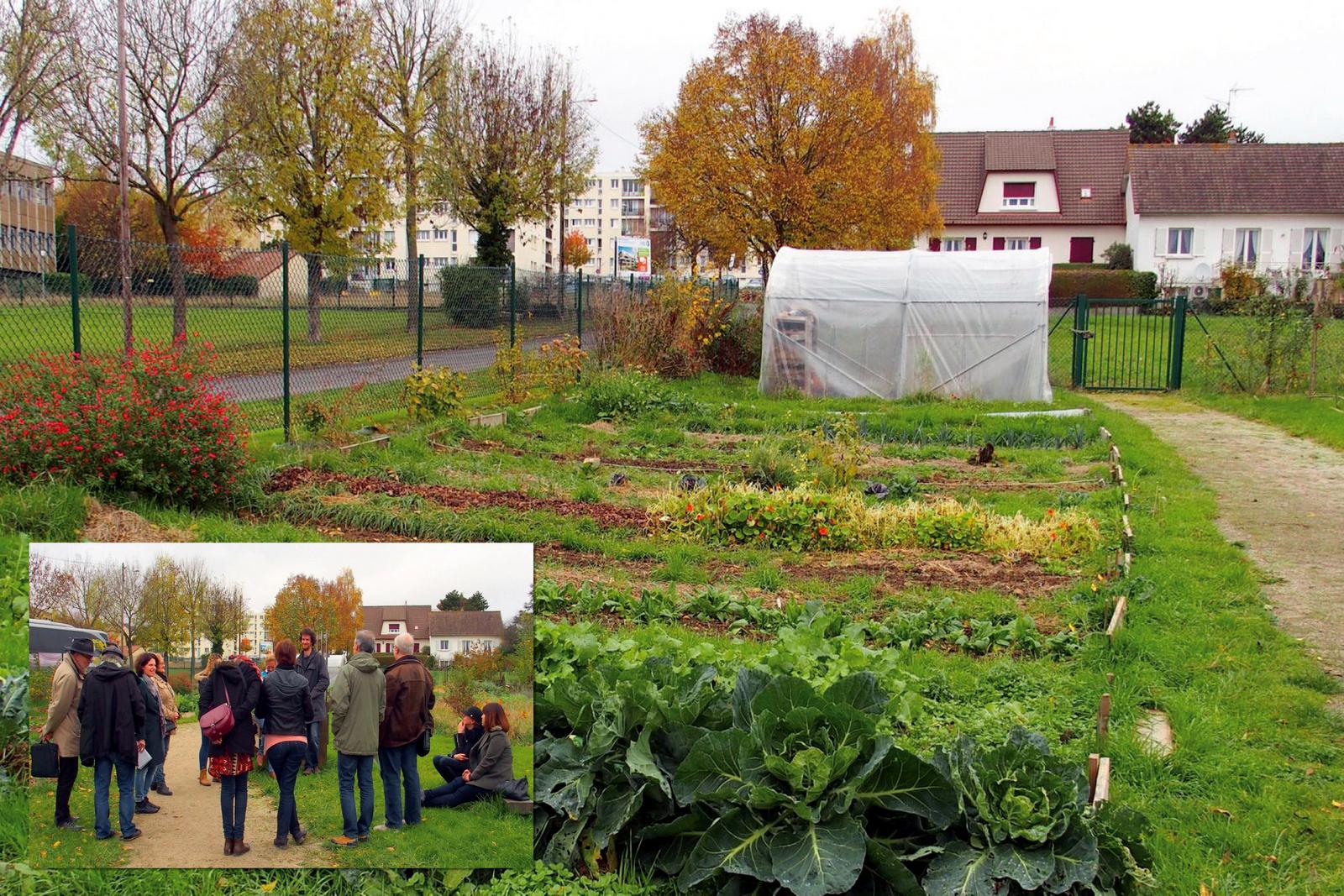Le Jardin Partagé Du Quartier Du Chemin Vert À Caen Jardin à Piscine Du Chemin Vert Caen