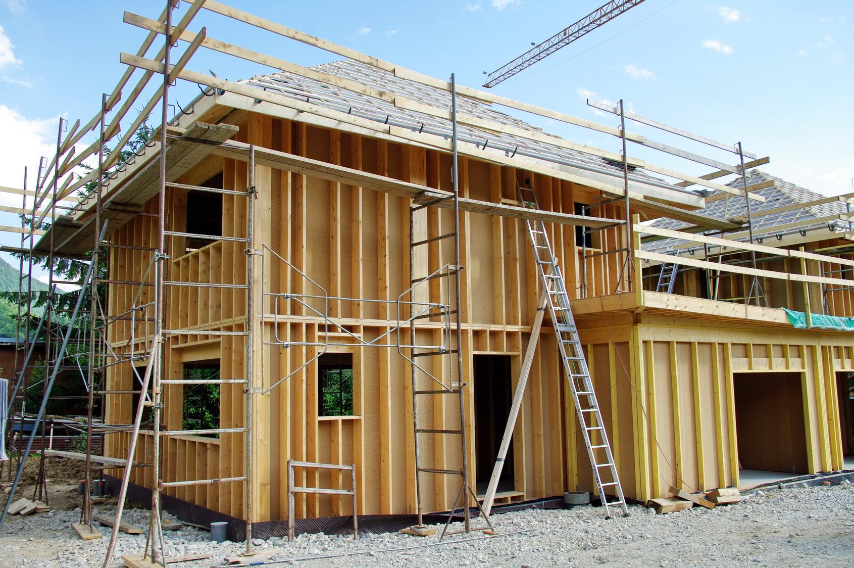 Les Étapes De Construction D'une Maison En Kit dedans Comment Fabriquer Une Cheminée De Maison