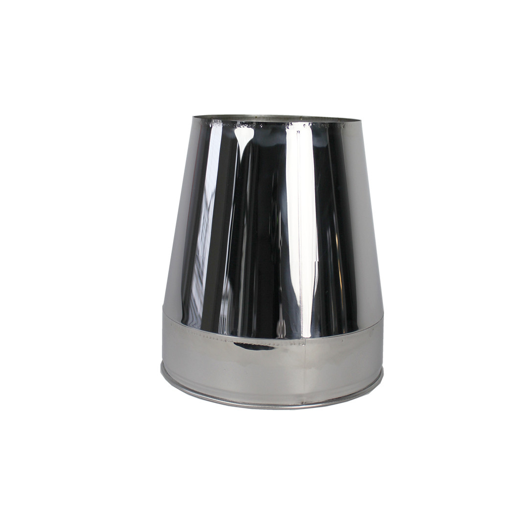 Mitron En Inox – Ø130-150-180-200Mm| Twist-Lock serapportantà Mitron De Cheminée