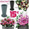 Mousse Art Floral Gifi serapportantà Fausse Cheminée Décorative Gifi