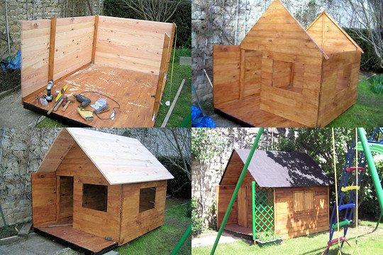 Plan Construction Cabane En Palette - Mailleraye.fr Jardin avec Comment Fabriquer Une Cheminée De Maison