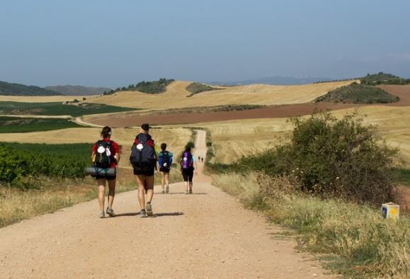 Randonnée Compostelle De Logrono À Burgos, Pèlerinage avec Randonnée Chemin De Compostelle