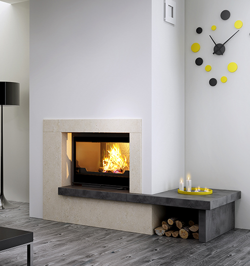 Sculpt Fireplace Collection – A New Dimension In Fireplace destiné Dimension Cheminée