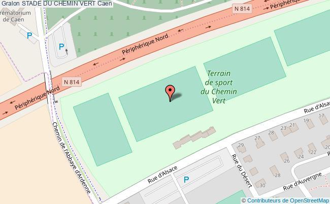 Terrain De Rugby D'Honneur Stade Du Chemin Vert Caen serapportantà Piscine Du Chemin Vert Caen