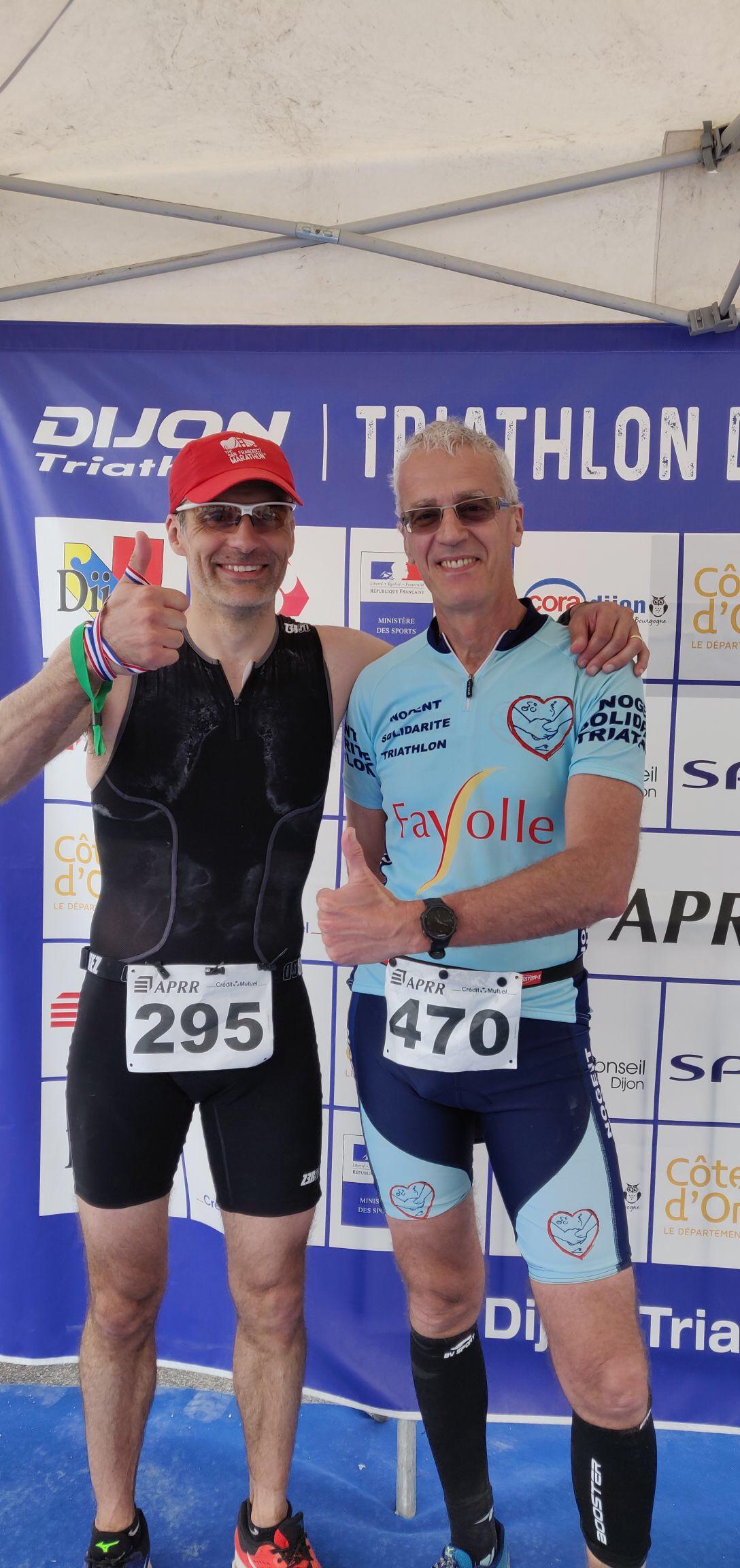 Triathlon Half De Dijon 26 Mai 2019 – Pourquoi Je Cours intérieur Triathlon Du Chemin Des Dames