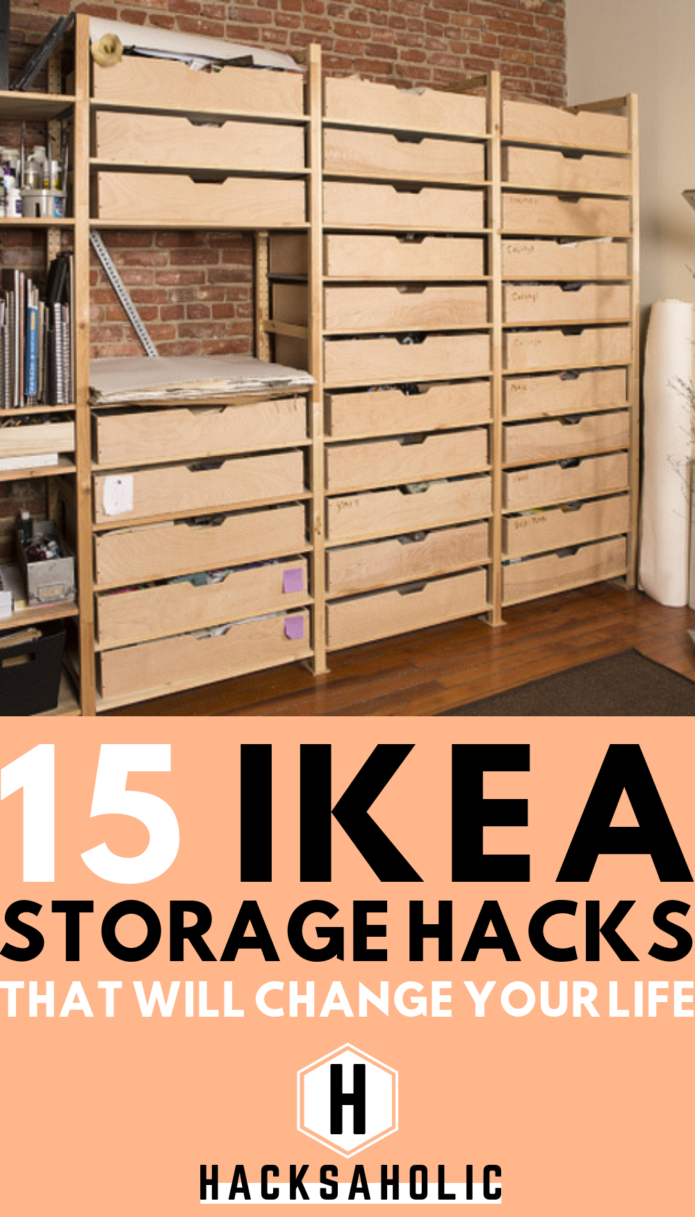 15 Ikea Storage Hacks That Will Change Your Life intérieur Rangement Cd Ikea