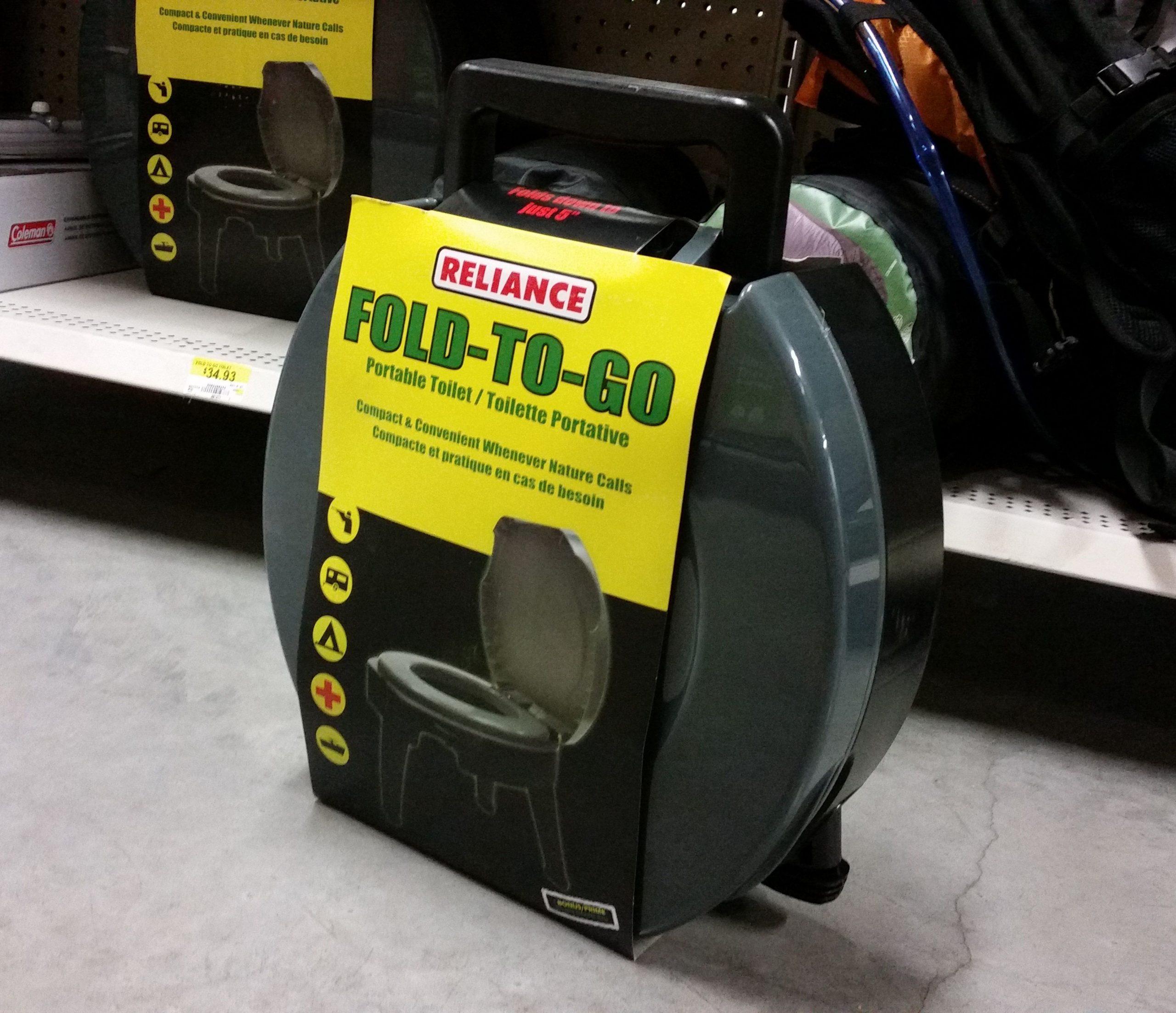 $35 At Walmart | Camping Tools, Camping Toilet, Walmart tout Toilette Portative Canadian Tire