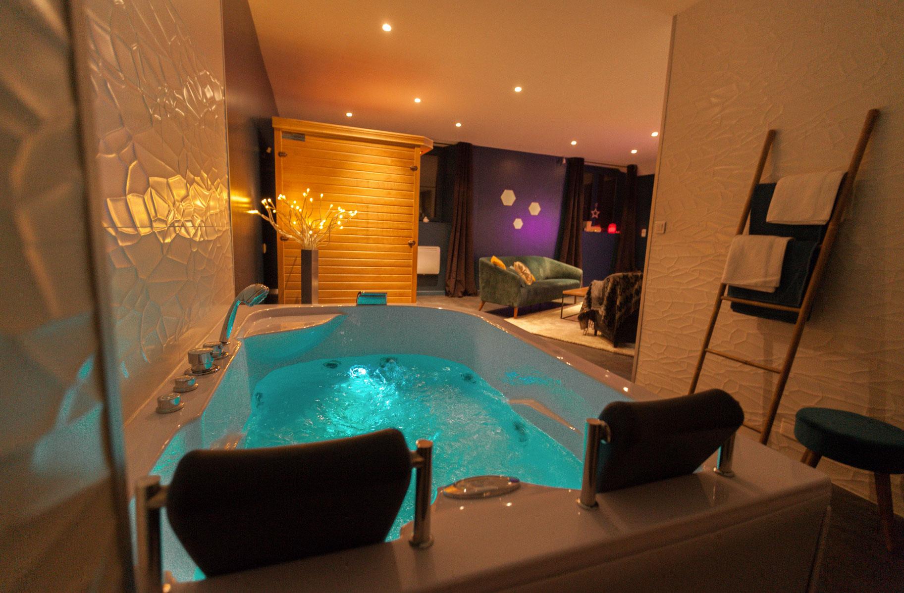 Airbnb Avec Jacuzzi Privatif | Enredada intérieur Airbnb Spa Privatif Île-De-France