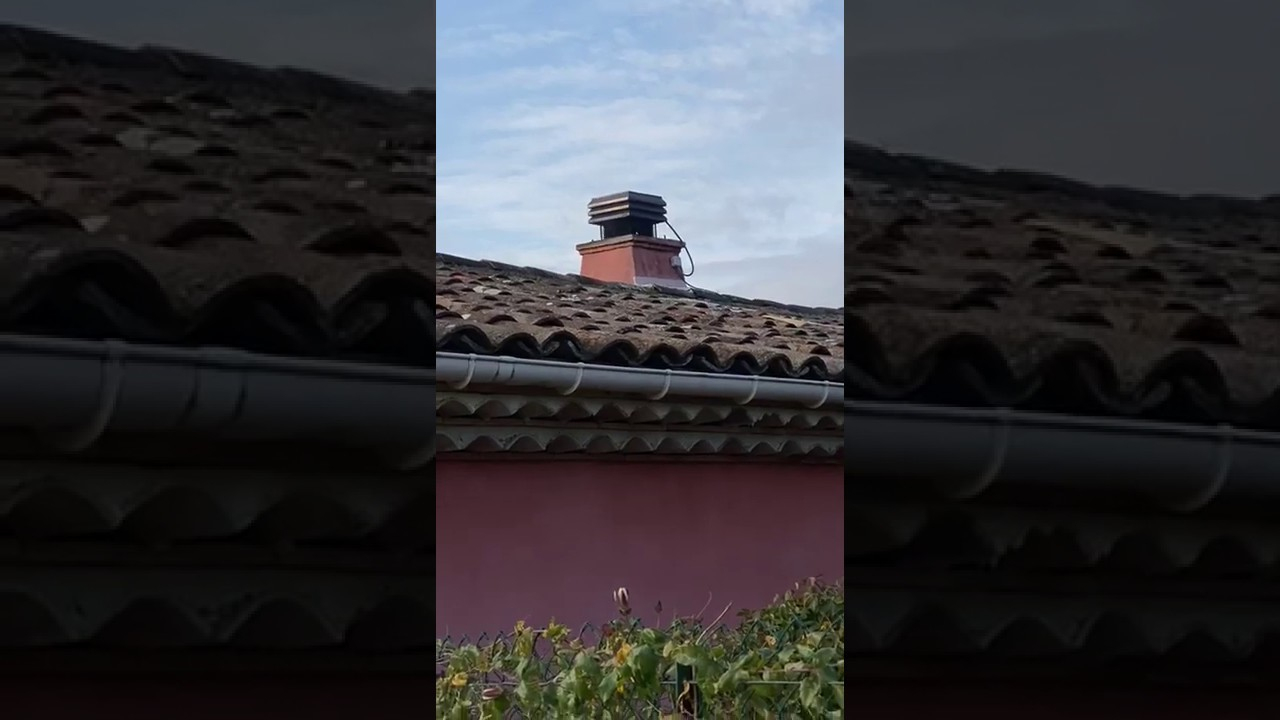 Aspirateur De Fumée Pour La Cheminée | Gemimarket France Video Avis De  Nicolas B. | Trustvideos 5/5 concernant Conduit Cheminée Extérieur Brico Dépôt