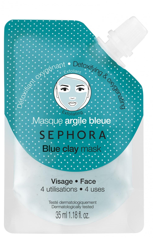 Avis Masque Détoxifiant Oxygénant - Argile Bleue De Sephora - Beauté Test à Trousse De Toilette Homme Sephora