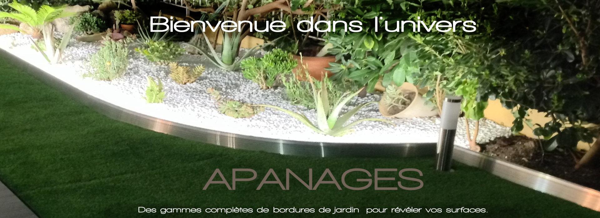 Bordure De Jardin Et Aménagement Du Jardin, Bordure Alu pour Bordure Jardin Acier Corten Jardiland